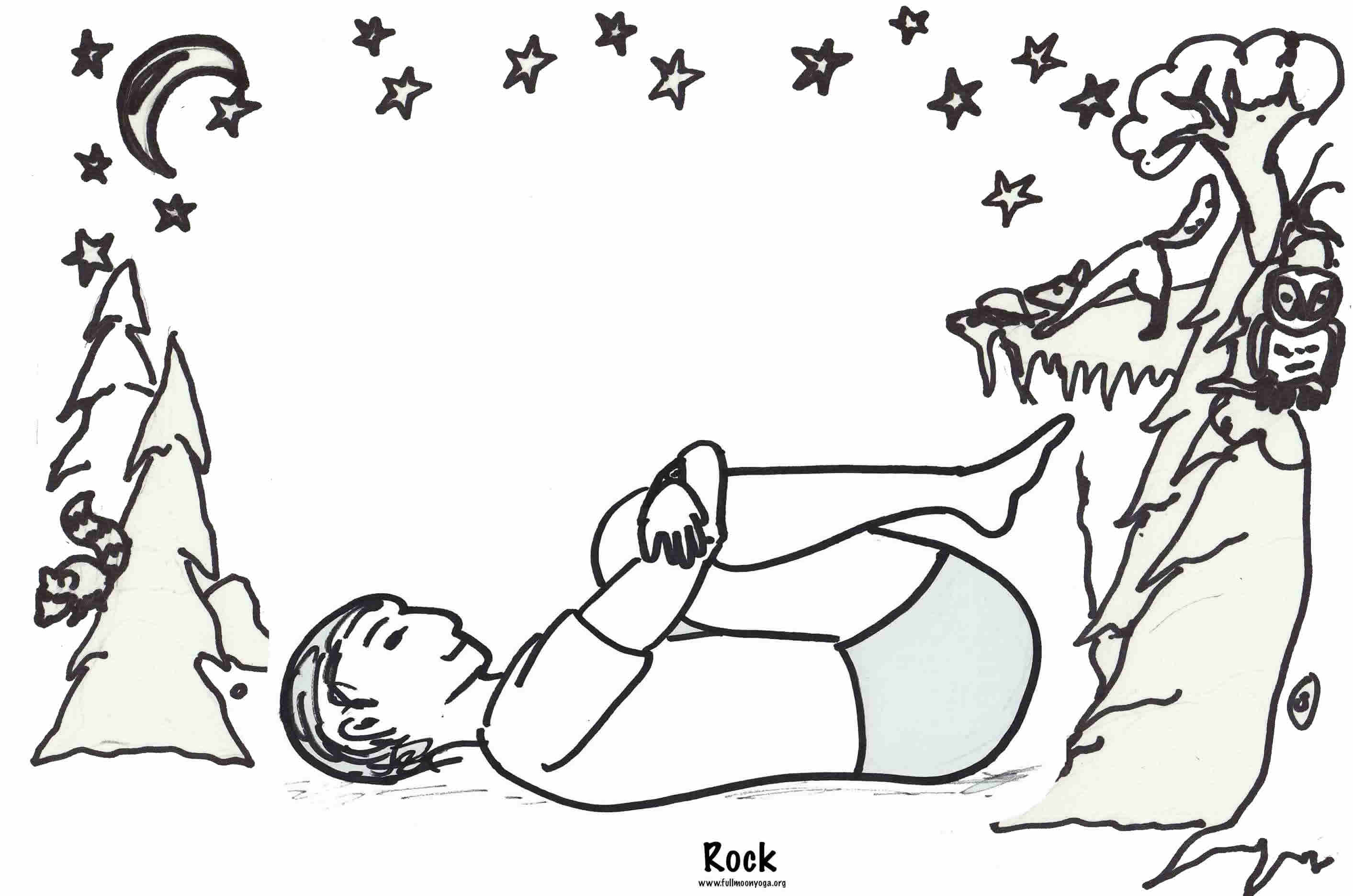 yoga coloring pages halloween free - photo#9